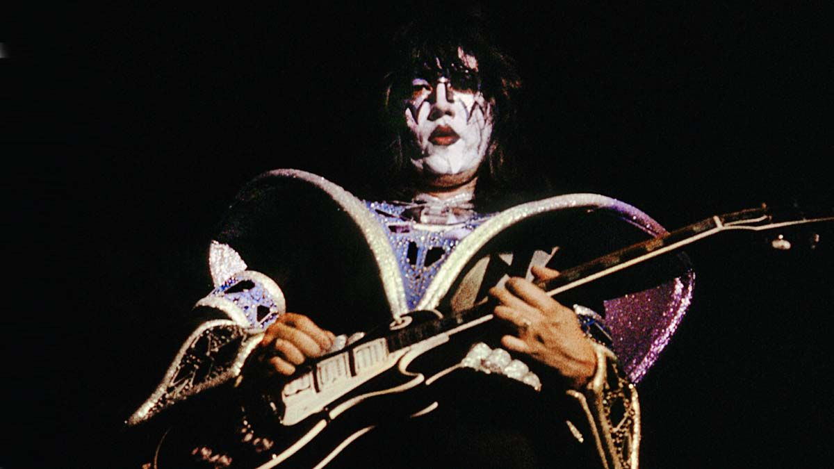 """Ace Frehley says Gibson is going to release a signature guitar based on his """"Black Beauty"""" Les Paul Custom"""