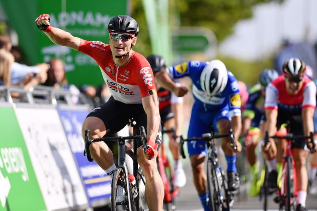 8a02be56fa7 André Greipel sprints to victory on opening stage of 2018 Tour of Britain