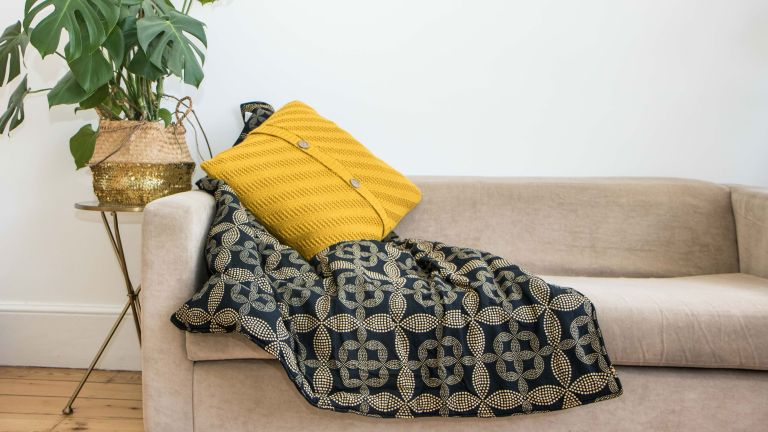 Secret pillow that turns into a throw helps to empower women in India
