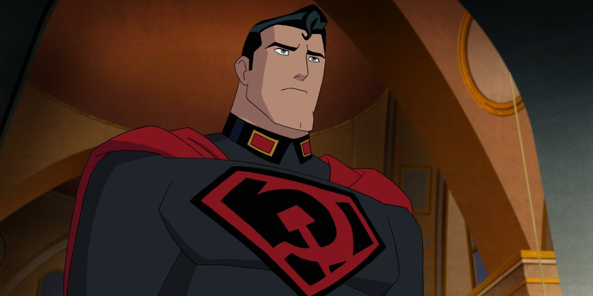 Jason Isaacs in Superman: Red Son