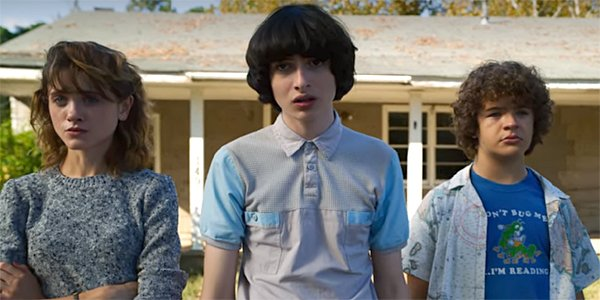 Nancy Mike Dustin Stranger Things Season 3 finale Netflix