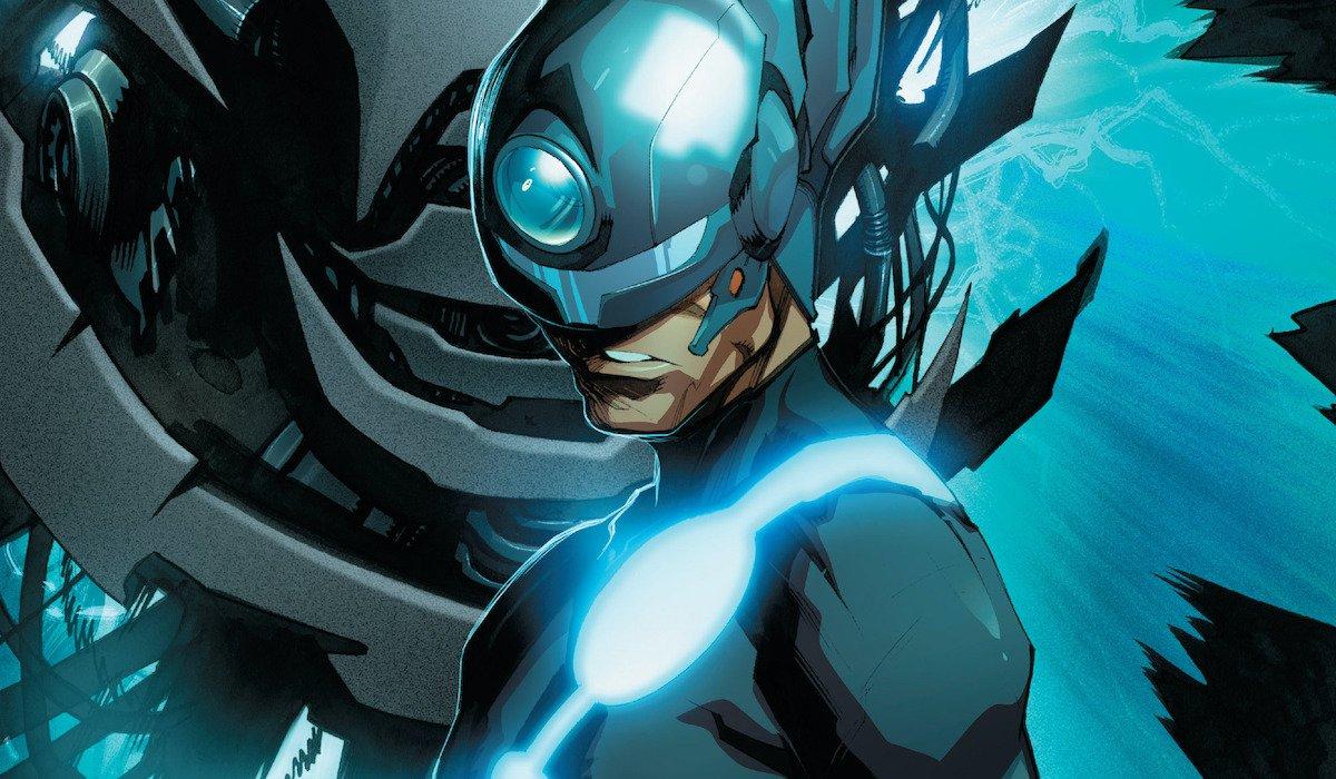 Maker wearing a helmet Marvel Comics