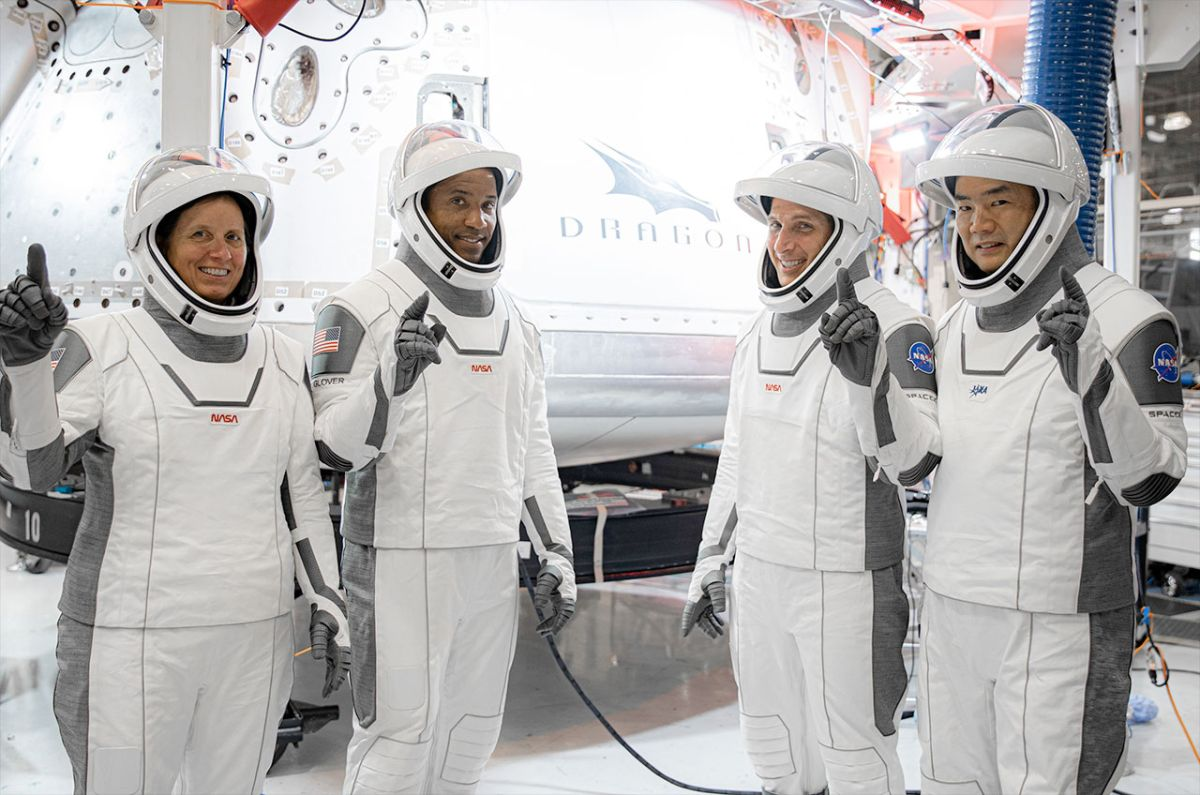 SpaceX Crew-1 astronauts name Dragon capsule 'Resilience'