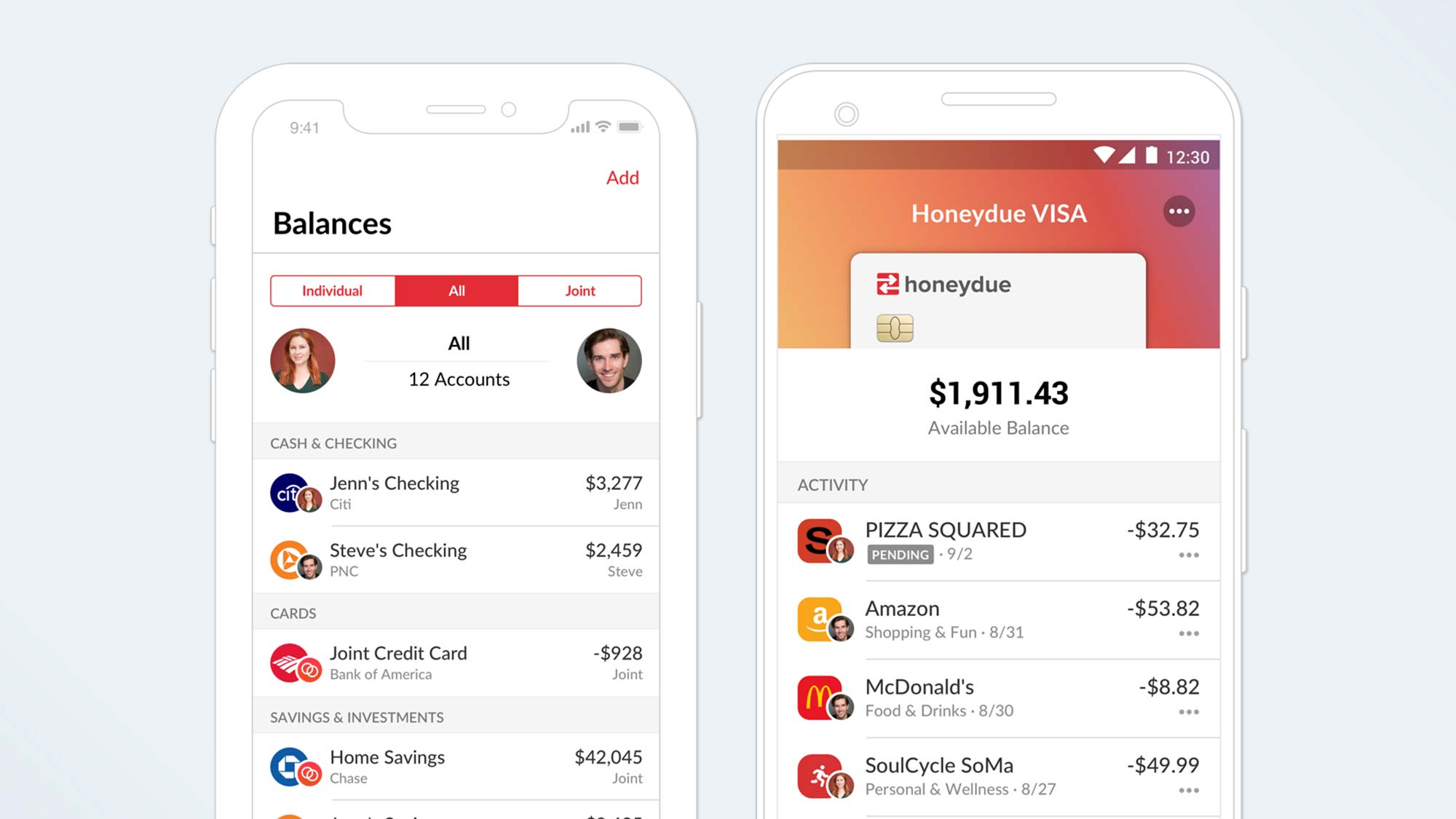 Best personal finance software: Honeydue