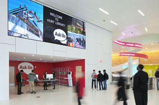 North Carolina State University Digital Signage