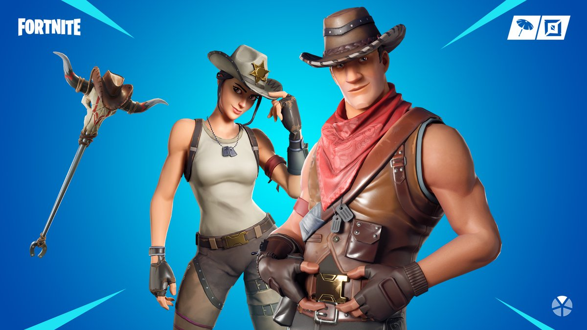 Fortnite shop update: New skins let out your inner cowboy