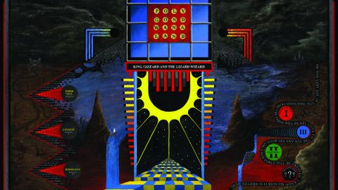 Cover art for King Gizzard And The Lizard Wizard - Polygondwanaland