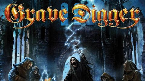 Cover art for Grave Digger HEALED BY METAL