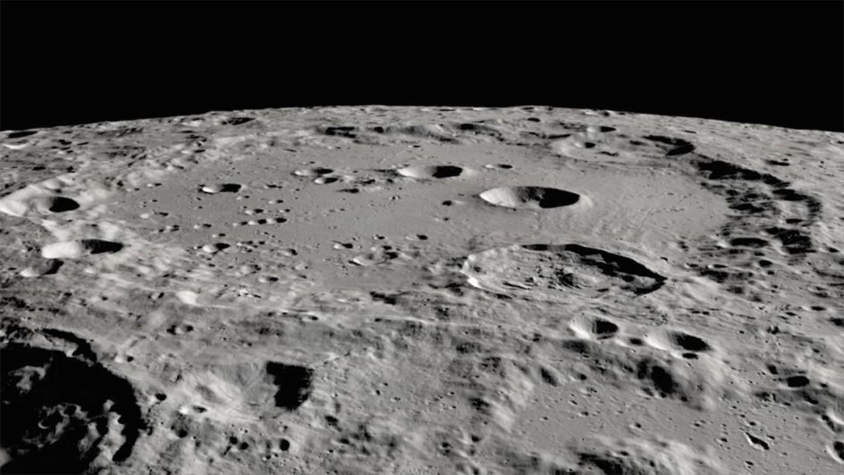 NASA finds water on the moon's sunlit surface for the first time