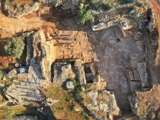 second temple quarries in Jerusalem