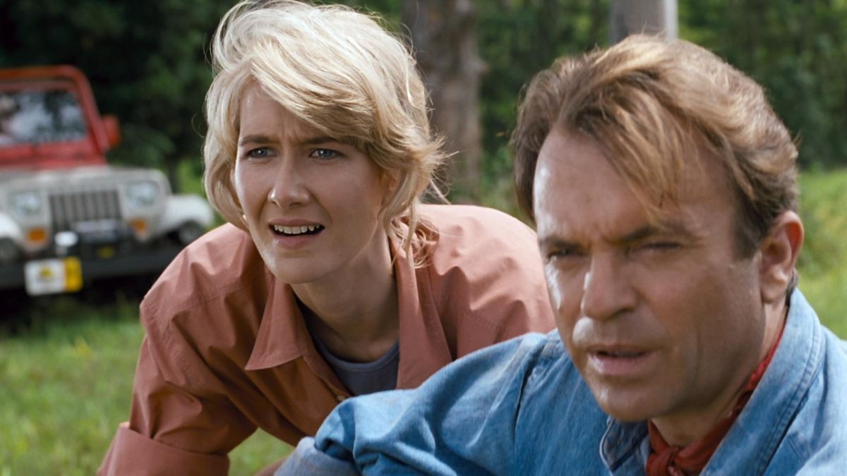 "Jurassic World: Dominion director teases the ""size and importance"" of Laura Dern and Sam Neill's return"