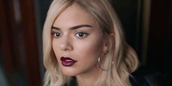kendall jenner blonde pepsi ad