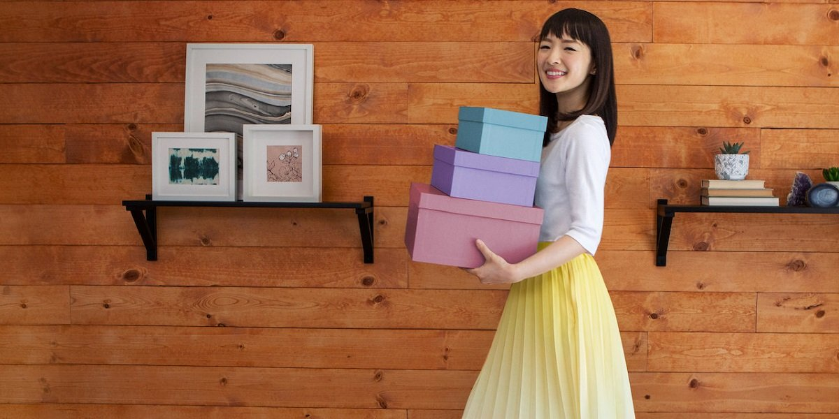 tidying up with marie kondo in quarantine