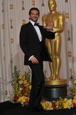 Bradley Cooper attends the Oscar Award Ceremony in 2010.