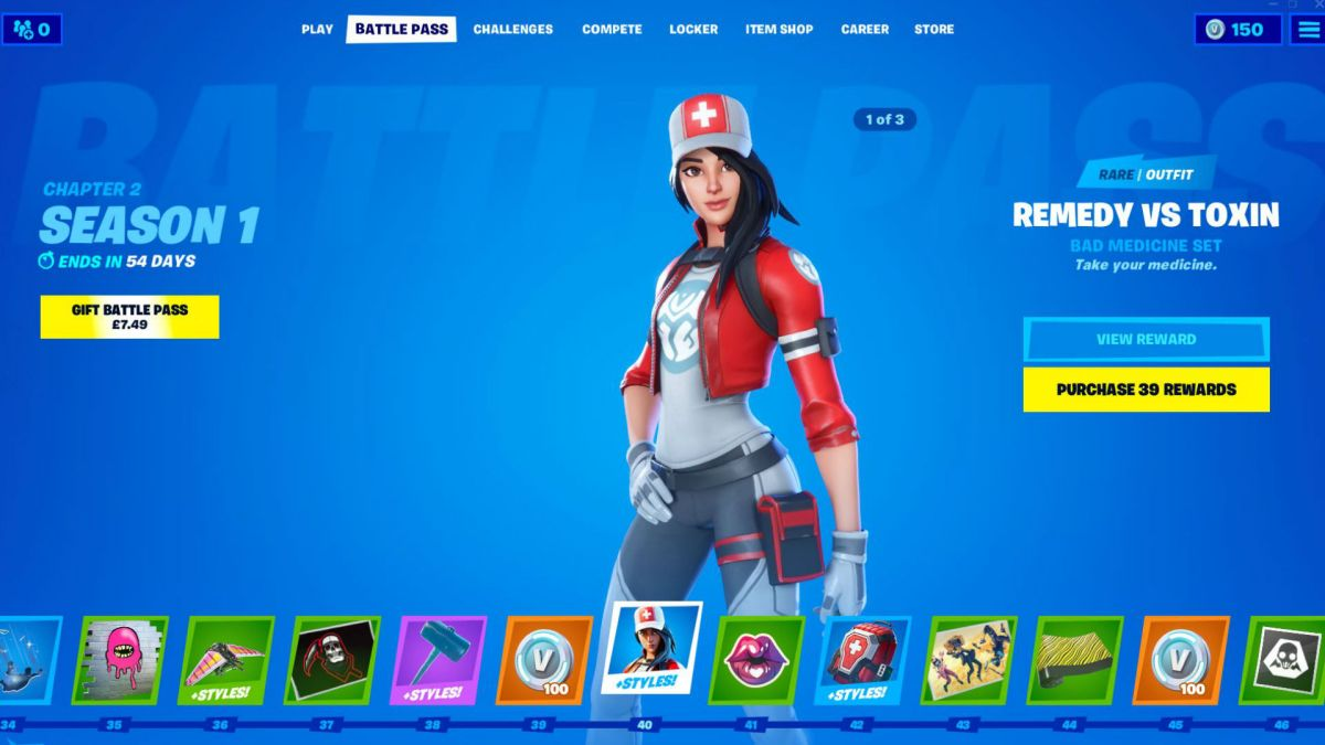 Fortnite Chapter 2 Skins The New Fortnite Season 11 Skins