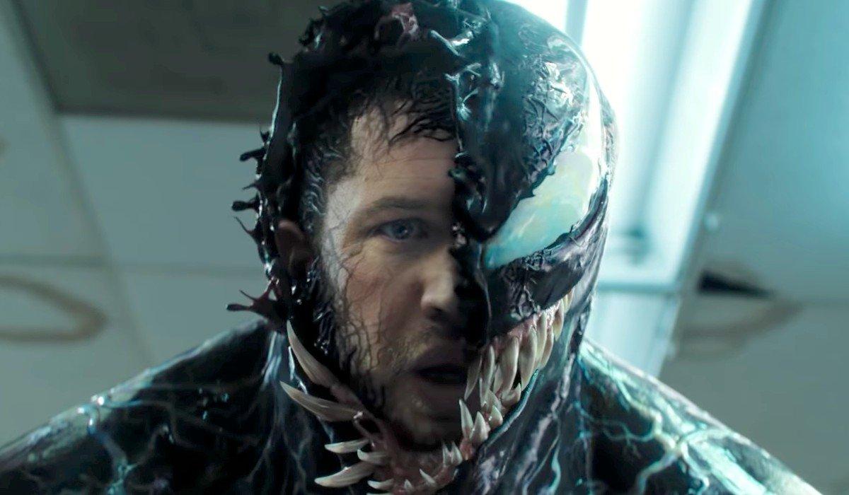 Tom Hardy transforming into Venom Venom