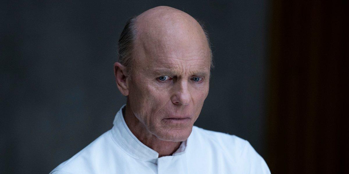 man in black in psych hospital westworld season 3