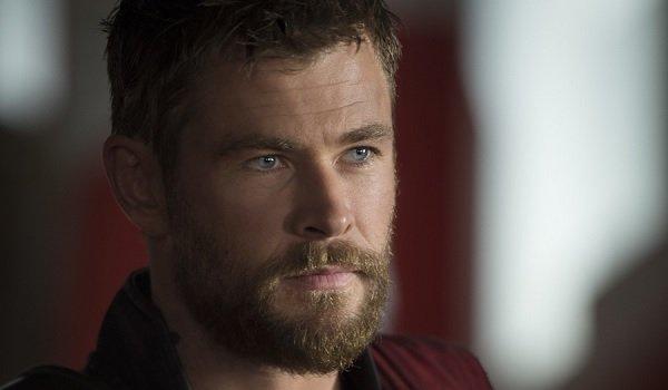 Thor: Ragnarok Chris Hemsworth thinking things out