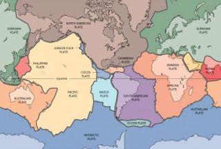 tectonic plates world