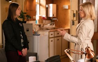 Coronation Street spoilers: Will Leanne Battersby reveal Tracy's secret?