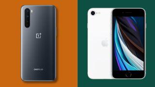 OnePlus Nord und iPhone SE im Vergleich