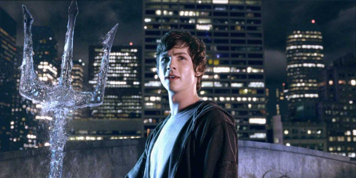 Logan Lerman as Percy Jackson in Percy Jackson and the Olympians: The Lightning Thief (2010)