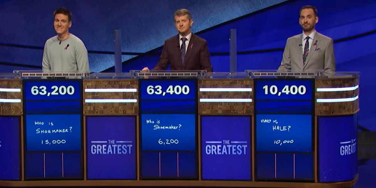 Jeopardy The Greatest of All Time Tournament James Holzhauer Ken Jennings Brad Rutter ABC