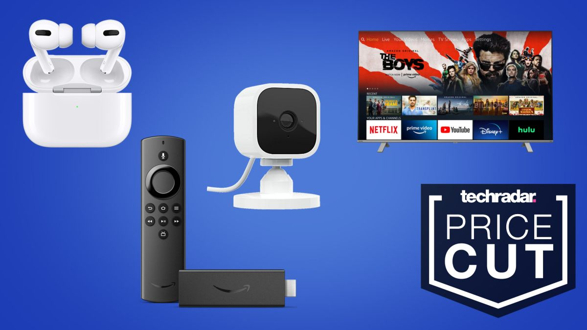 Epic Amazon sale: $24.99 Blink Mini, smart TVs, $180 AirPods Pro, Fire TV Stick and more