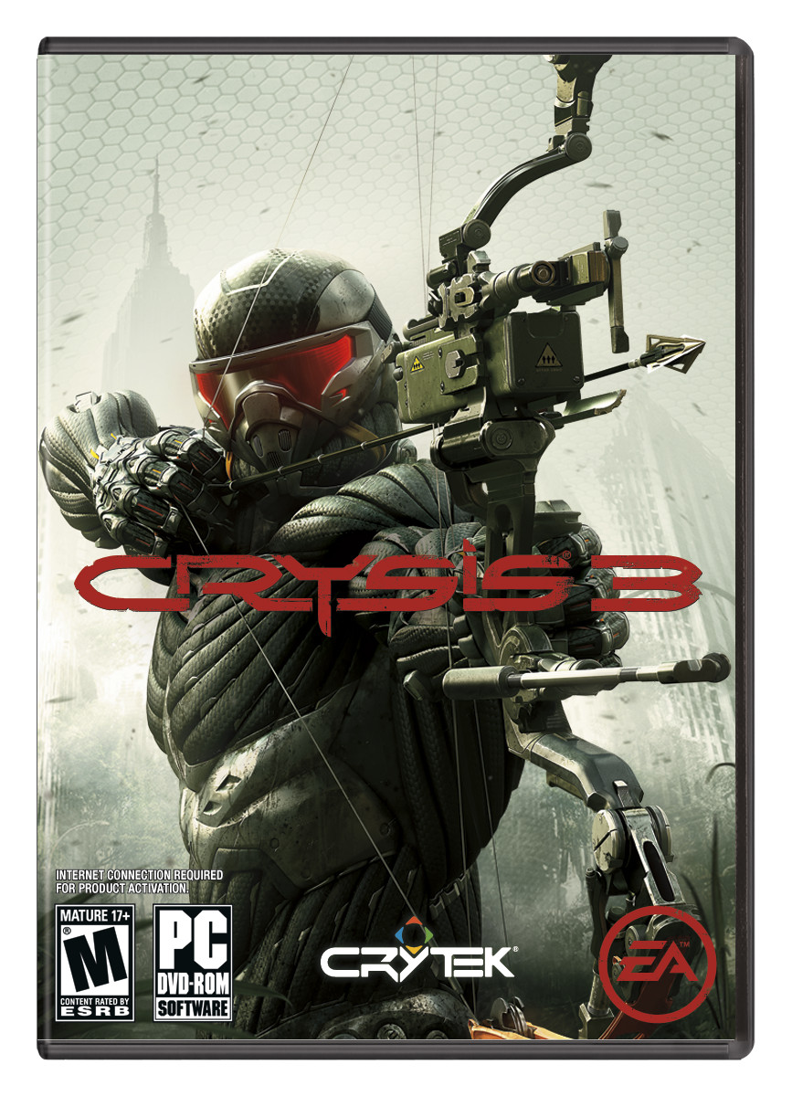 Crysis 3 Box Art: Prophet Armed With Box #25369