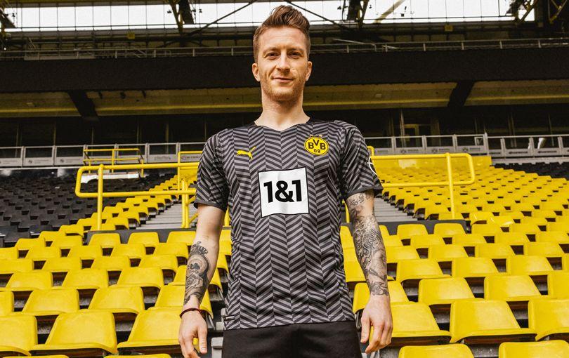 Borussia Dortmund drop their new Puma away kit for the 2021/22 ...