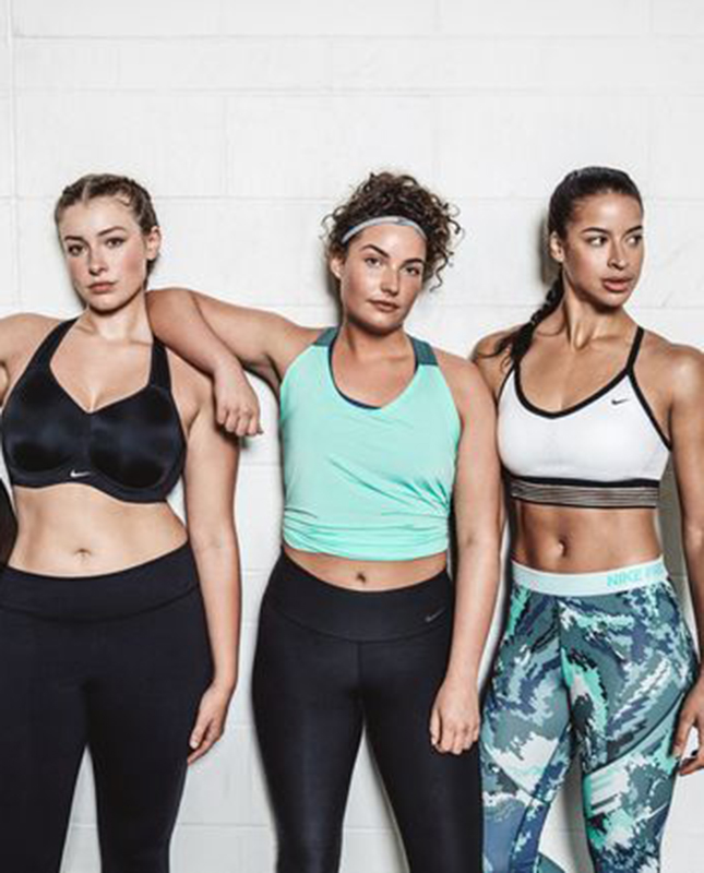 """5d9125692ab As for Nike, their message is clear: """"Strong is the keyword for us; size  doesn't matter,"""" Nike's vice president of women's training apparel Helen  Boucher ..."""