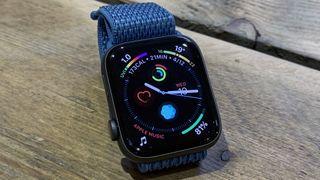 The Apple Watch 4 runs watchOS 5