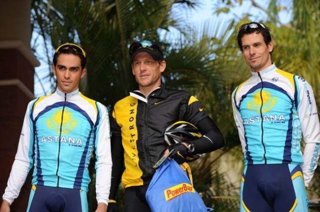 Contador Armstrong Astana 2008