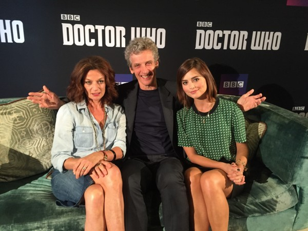 The Doctor Who cast reveal details of Maisie Williams' guest appearance (PA)