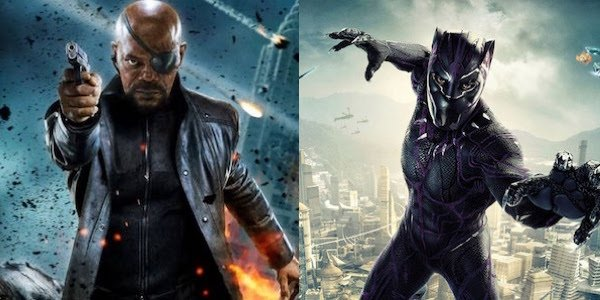 Nick Fury and Black Panther
