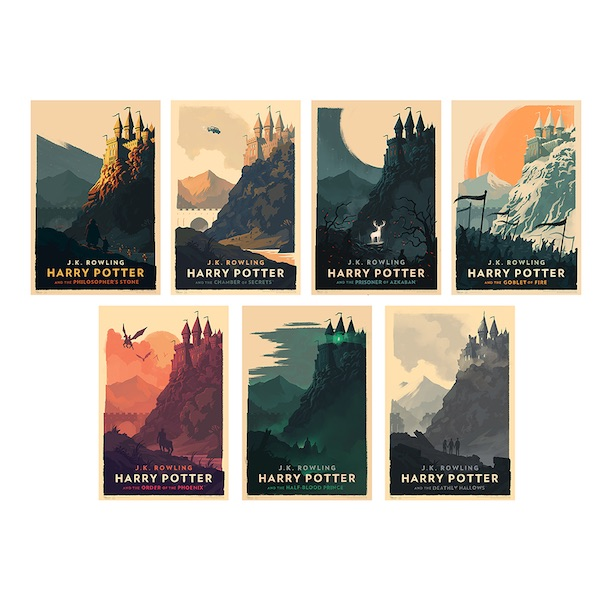 Olly Moss Harry Potter Poster Set