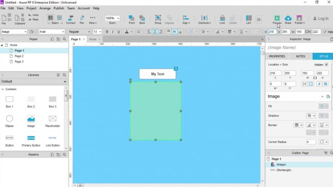 Wireframe tools: Axure RP
