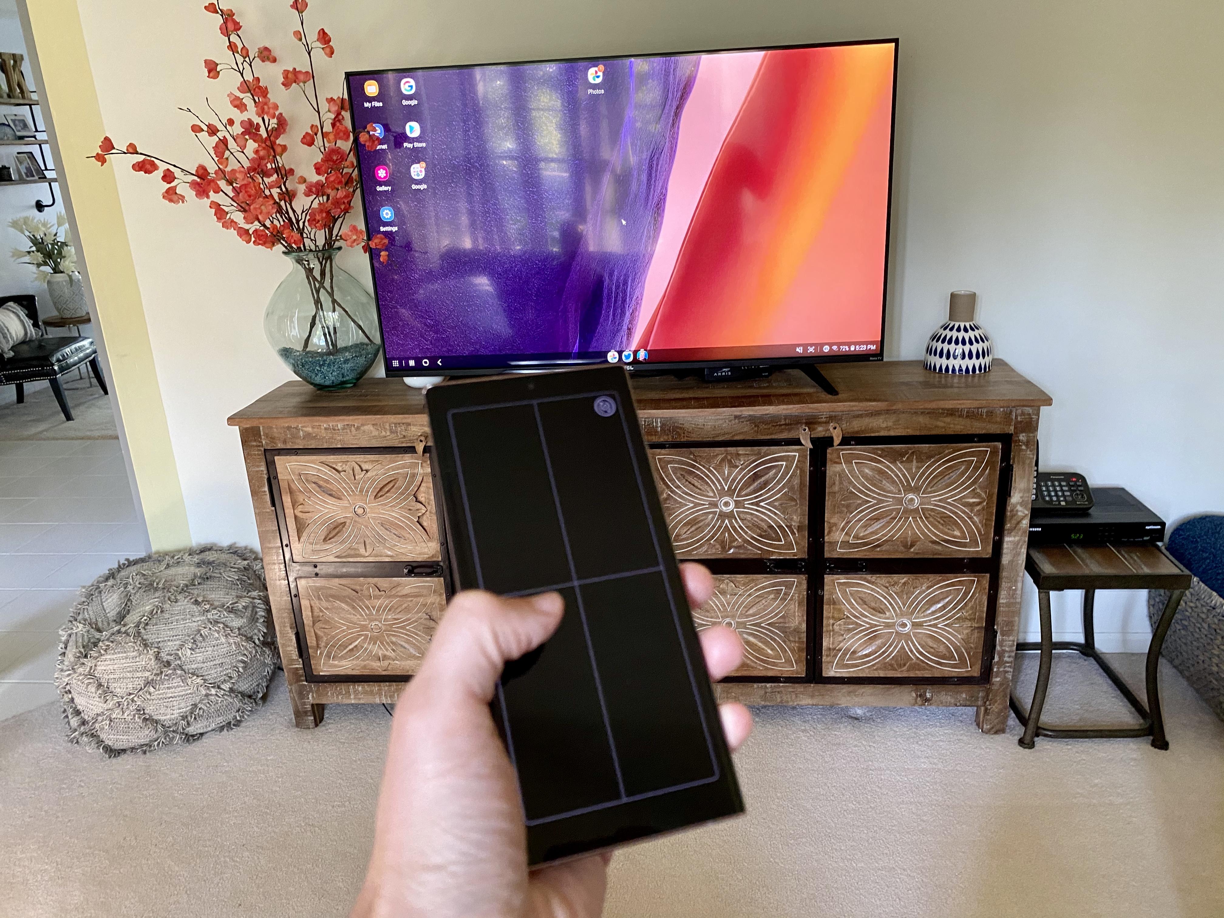 Samsung Galaxy Note 20 Wireless Ultra DeX mode