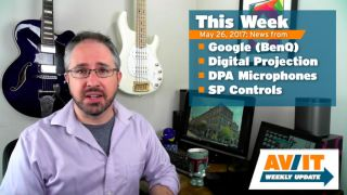 [VIDEO] AV/IT Weekly Update: DPA Microphones d:vice MMA-A & DSM6000, Google Jamboard, SP Controls AmpLINC, & Digital Projection Radiance LED