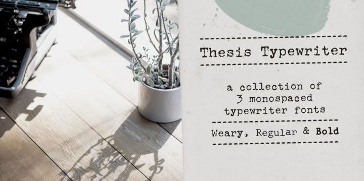 17 of the best typewriter fonts