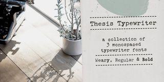best typewriter font