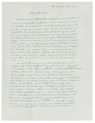 letter by einstein