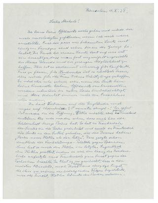 letter by einstein