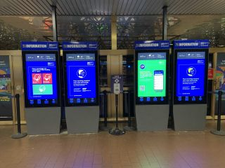 USSI Global Brings Touchscreen Interactivity to Busy Bus Terminal