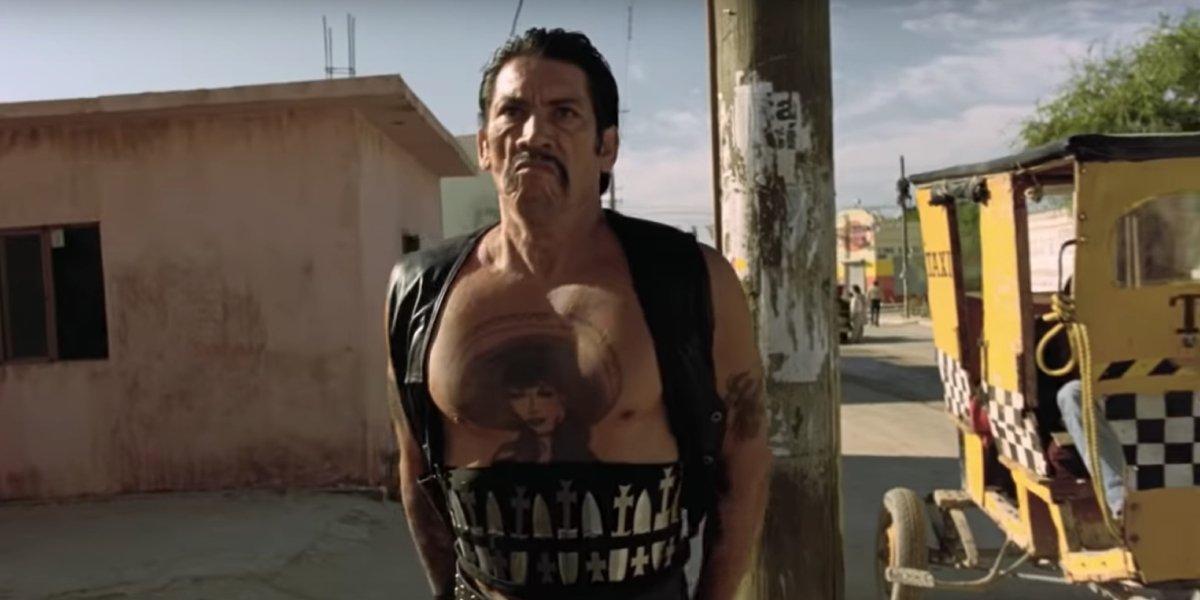 Danny Trejo as knife-wielding Navajas in Desperado