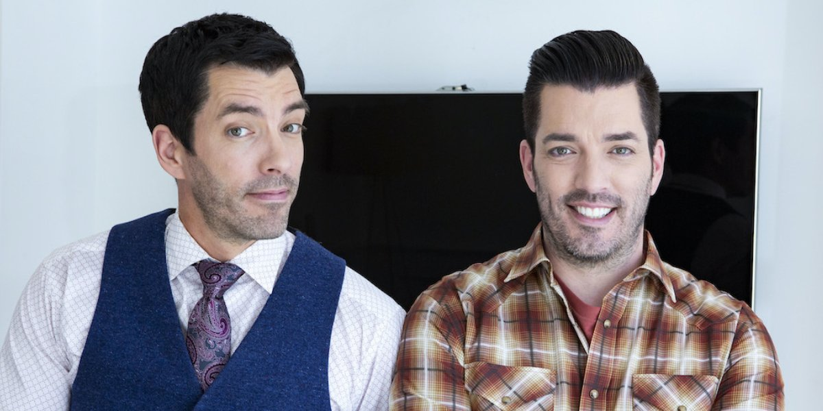 Drew and Jonathan Scott on Property Brothers