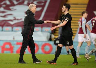 Aston Villa v West Ham United – Premier League – Villa Park