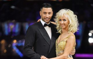 """Debbie McGee and Giovanni have a """"ball"""" as they share final dance"""