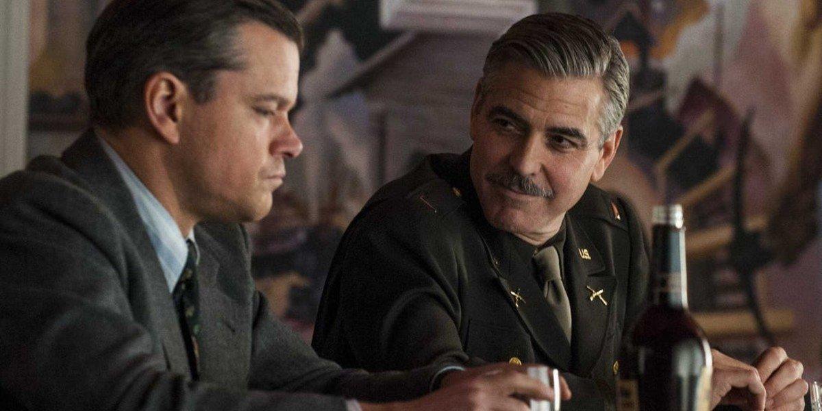 Matt Damon, George Clooney - The Monuments Men