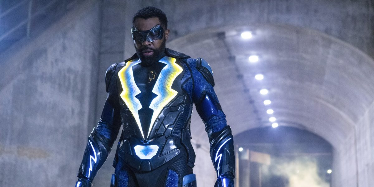 Cress Williams on Black Lightning